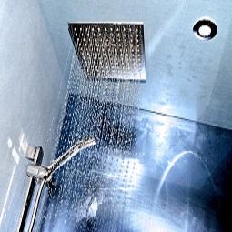 Umbau, neue Dusche